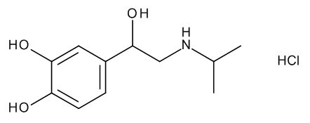 Isoprenaline hydrochloride Assay Standard