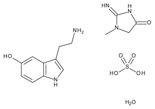 Serotonin creatine sulfate